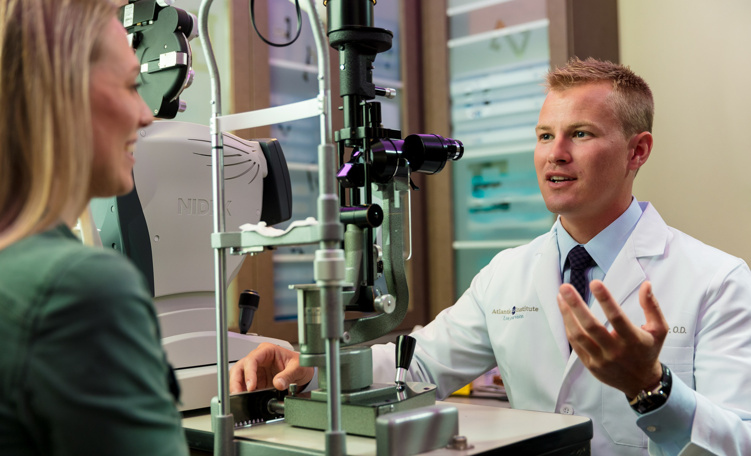 Discover the Best Eye Exams for Medical or Routine Care at Atlantic Eye Institute. We Offer Custom Contact Lense Fittings and Designer Eyeglasses