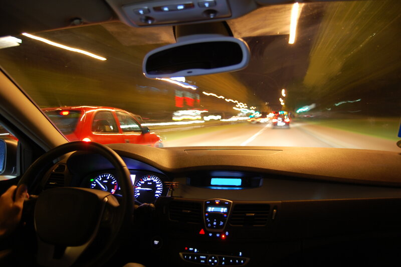 is night driving challenging learn about night blindness