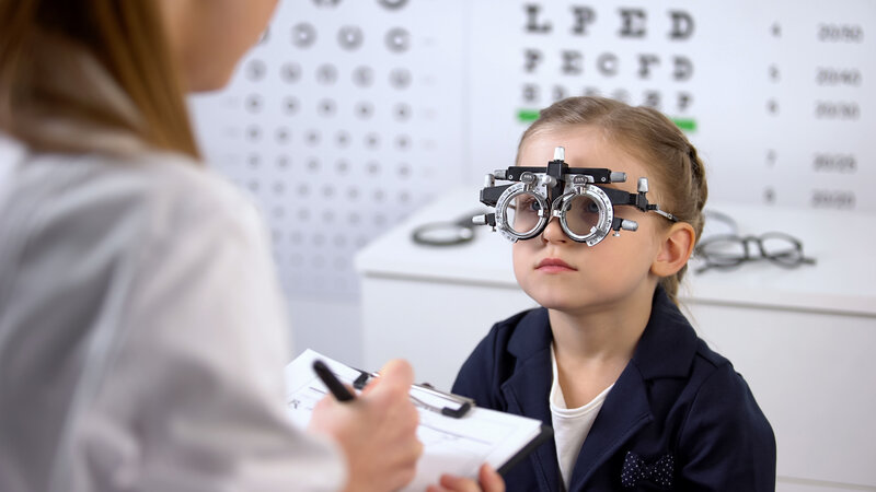 the importance of pediatric eye exams
